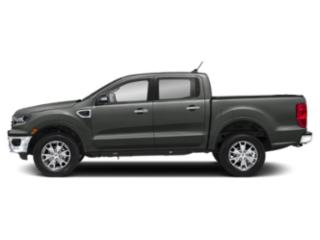 Magnetic Metallic 2019 Ford Ranger Pictures Ranger LARIAT 2WD SuperCrew 5' Box photos side view