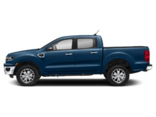 Lightning Blue Metallic 2019 Ford Ranger Pictures Ranger LARIAT 2WD SuperCrew 5' Box photos side view