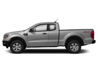 Ingot Silver Metallic 2019 Ford Ranger Pictures Ranger LARIAT 2WD SuperCrew 5' Box photos side view