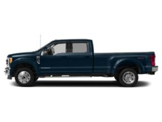 Blue Jeans Metallic 2019 Ford Super Duty F-450 DRW Pictures Super Duty F-450 DRW LARIAT 2WD Crew Cab 8' Box photos side view