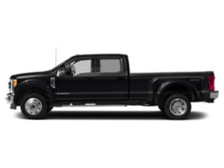 Agate Black Metallic 2019 Ford Super Duty F-450 DRW Pictures Super Duty F-450 DRW LARIAT 2WD Crew Cab 8' Box photos side view
