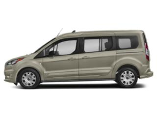 Diffused Silver Metallic 2019 Ford Transit Connect Wagon Pictures Transit Connect Wagon Titanium LWB w/Rear Liftgate photos side view