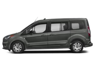 Magnetic Metallic 2019 Ford Transit Connect Wagon Pictures Transit Connect Wagon Titanium LWB w/Rear Liftgate photos side view