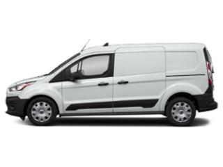 Frozen White 2019 Ford Transit Connect Wagon Pictures Transit Connect Wagon Titanium LWB w/Rear Liftgate photos side view
