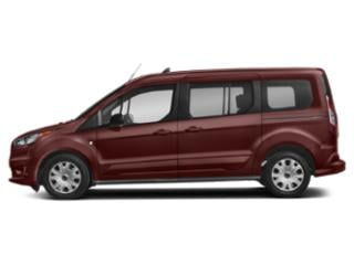 Kapoor Red Metallic 2019 Ford Transit Connect Wagon Pictures Transit Connect Wagon XLT LWB w/Rear Liftgate photos side view