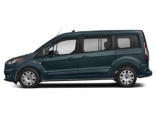 Blue Metallic 2019 Ford Transit Connect Wagon Pictures Transit Connect Wagon XLT LWB w/Rear Liftgate photos side view