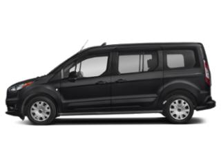 Shadow Black 2019 Ford Transit Connect Wagon Pictures Transit Connect Wagon XLT LWB w/Rear Liftgate photos side view