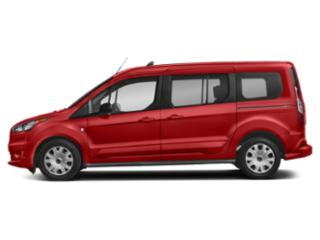 Race Red 2019 Ford Transit Connect Wagon Pictures Transit Connect Wagon XLT LWB w/Rear Liftgate photos side view