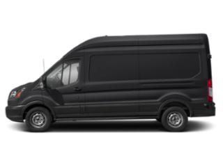 Shadow Black 2019 Ford Transit Van Pictures Transit Van T-250 148 Hi Rf 9000 GVWR Dual Dr photos side view