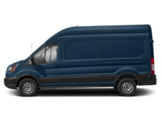 Blue Jeans Metallic 2019 Ford Transit Van Pictures Transit Van T-250 148 Hi Rf 9000 GVWR Dual Dr photos side view