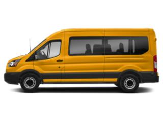 School Bus Yellow 2019 Ford Transit Passenger Wagon Pictures Transit Passenger Wagon T-350 148 Low Roof XL Swing-Out RH Dr photos side view