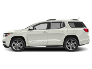 White Frost Tricoat 2019 GMC Acadia Pictures Acadia AWD 4dr Denali photos side view
