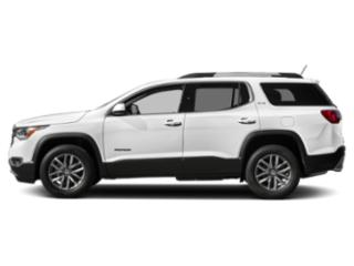 Summit White 2019 GMC Acadia Pictures Acadia FWD 4dr SLT w/SLT-2 photos side view