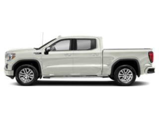 White Frost Tricoat 2019 GMC Sierra 1500 Pictures Sierra 1500 2WD Crew Cab 157 Denali photos side view