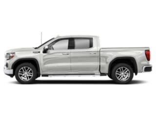 White Frost Tricoat 2019 GMC Sierra 1500 Pictures Sierra 1500 2WD Crew Cab 157 SLT photos side view