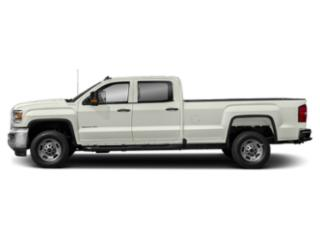 White Frost Tricoat 2019 GMC Sierra 2500HD Pictures Sierra 2500HD 4WD Crew Cab 167.7 SLE photos side view