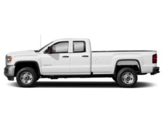 Summit White 2019 GMC Sierra 2500HD Pictures Sierra 2500HD 2WD Double Cab 158.1 SLE photos side view