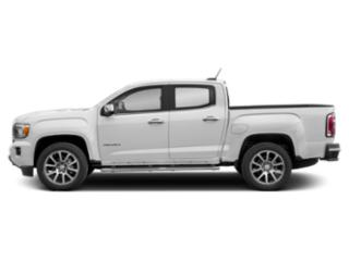 Summit White 2019 GMC Canyon Pictures Canyon 4WD Crew Cab 128.3 Denali photos side view