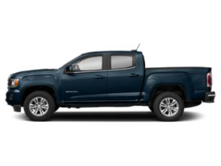 Blue Emerald Metallic 2019 GMC Canyon Pictures Canyon 4WD Crew Cab 128.3 SLE photos side view