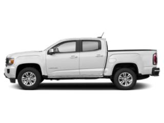 Summit White 2019 GMC Canyon Pictures Canyon 4WD Crew Cab 128.3 SLE photos side view