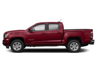 Red Quartz Tintcoat 2019 GMC Canyon Pictures Canyon 4WD Crew Cab 128.3 SLE photos side view