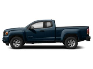 Blue Emerald Metallic 2019 GMC Canyon Pictures Canyon 2WD Ext Cab 128.3 SL photos side view