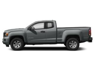 Satin Steel Metallic 2019 GMC Canyon Pictures Canyon 2WD Ext Cab 128.3 SL photos side view