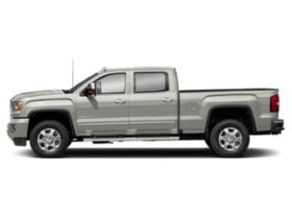 White Frost Tricoat 2019 GMC Sierra 3500HD Pictures Sierra 3500HD 2WD Crew Cab 153.7 Denali photos side view
