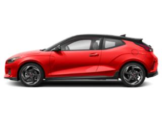 Sunset Orange w/Black Roof 2019 Hyundai Veloster Pictures Veloster Turbo Ultimate DCT photos side view