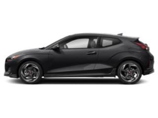 Phantom Black 2019 Hyundai Veloster Pictures Veloster Turbo Ultimate DCT photos side view