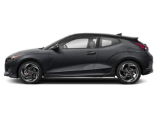 Thunder Gray w/Black Roof 2019 Hyundai Veloster Pictures Veloster Turbo Ultimate DCT photos side view