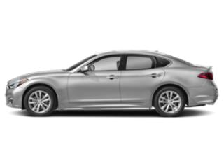 Liquid Platinum 2019 INFINITI Q70 Pictures Q70 3.7 LUXE AWD photos side view