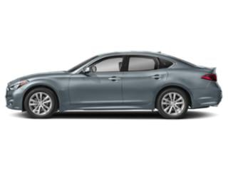 Hagane Blue 2019 INFINITI Q70 Pictures Q70 5.6 LUXE RWD photos side view