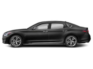 Graphite Shadow 2019 INFINITI Q70L Pictures Q70L 3.7 LUXE RWD photos side view