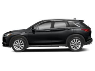Eclipse Black 2019 INFINITI QX50 Pictures QX50 ESSENTIAL AWD photos side view