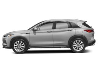 Liquid Platinum 2019 INFINITI QX50 Pictures QX50 PURE FWD photos side view