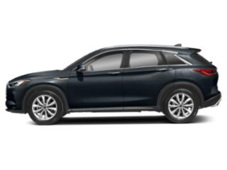 Hermosa Blue 2019 INFINITI QX50 Pictures QX50 LUXE AWD photos side view