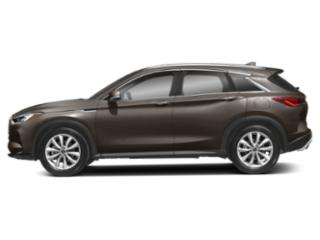 Chestnut Bronze 2019 INFINITI QX50 Pictures QX50 LUXE AWD photos side view