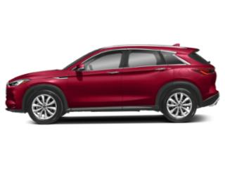 Dynamic Sunstone Red 2019 INFINITI QX50 Pictures QX50 LUXE AWD photos side view
