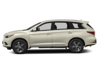 Majestic White 2019 INFINITI QX60 Pictures QX60 LUXE FWD photos side view