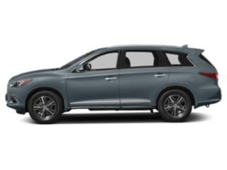 Hagane Blue 2019 INFINITI QX60 Pictures QX60 PURE FWD photos side view