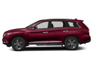 Deep Bordeaux 2019 INFINITI QX60 Pictures QX60 PURE FWD photos side view