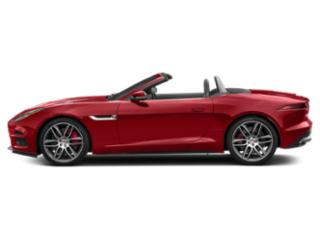 Caldera Red 2019 Jaguar F-TYPE Pictures F-TYPE Convertible Auto R-Dynamic photos side view
