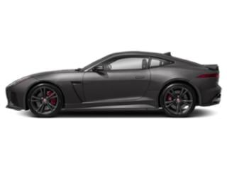 Corris Grey Metallic 2019 Jaguar F-TYPE Pictures F-TYPE Coupe Auto SVR AWD photos side view