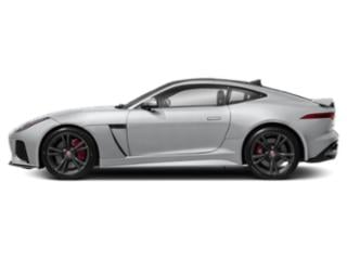 Yulong White Metallic 2019 Jaguar F-TYPE Pictures F-TYPE Coupe Auto SVR AWD photos side view