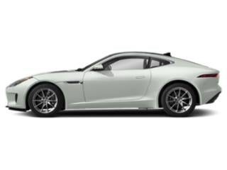 Fuji White 2019 Jaguar F-TYPE Pictures F-TYPE Coupe Auto P300 photos side view