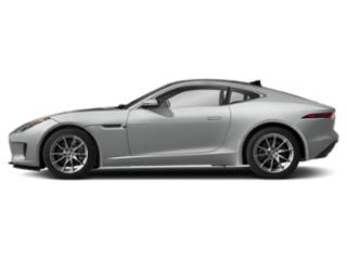 Indus Silver Metallic 2019 Jaguar F-TYPE Pictures F-TYPE Coupe Auto P300 photos side view