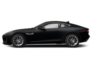 Santorini Black Metallic 2019 Jaguar F-TYPE Pictures F-TYPE Coupe Auto P340 photos side view