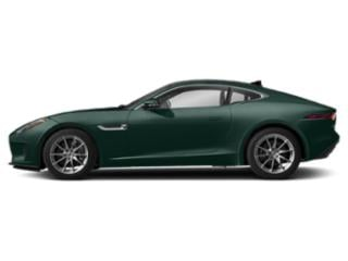 British Racing Green Metallic 2019 Jaguar F-TYPE Pictures F-TYPE Coupe Auto P340 photos side view