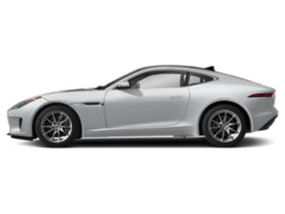 Yulong White Metallic 2019 Jaguar F-TYPE Pictures F-TYPE Coupe Auto P340 photos side view